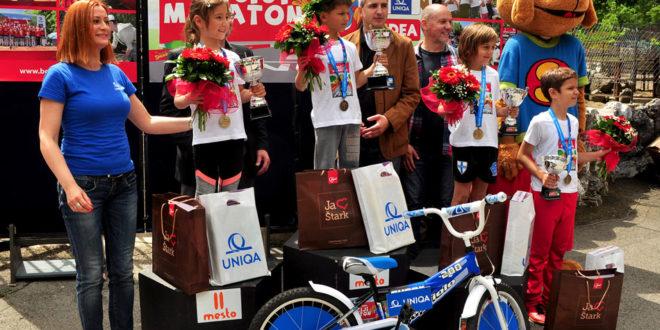 , Pobedniku Dečjeg maraton od UNIQA osiguranja na poklon bicikl, Gradski Magazin