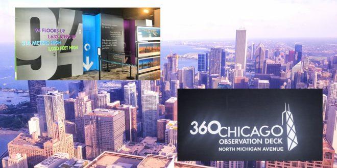 360 CHICAGO, Čikago na dlanu: Predstavljamo 360 CHICAGO Observatory deck, Gradski Magazin
