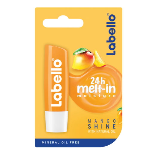 labello mango shine, NOVO: Labello Mango Shine – neodoljiv miris manga i diskretan sjaj, Gradski Magazin