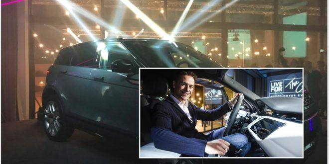 , Nova generacija modela: Range Rover Evoque, Gradski Magazin