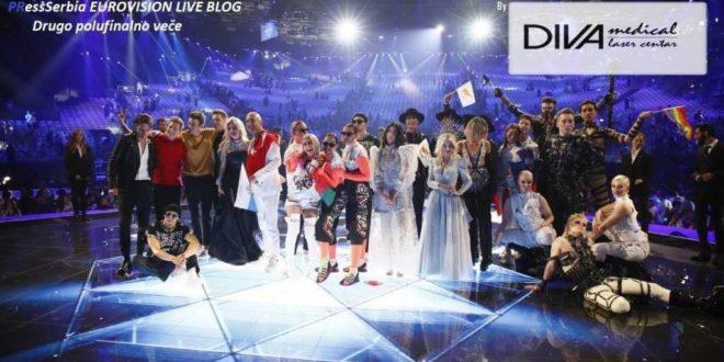 DIVA EUROVISION TEL AVIV 2019 LIVE BLOG, Gradski Magazin