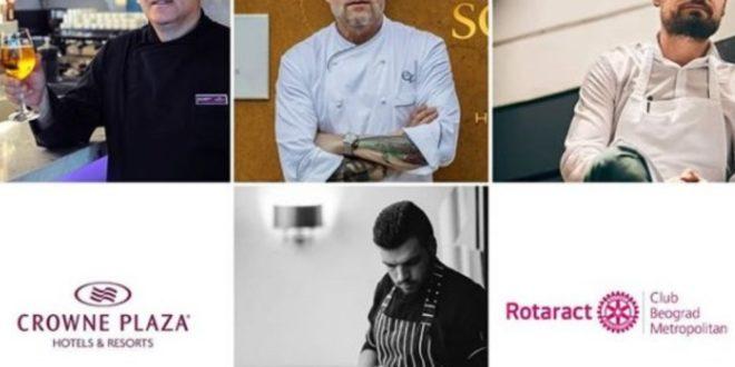 """humanitarno veče, Humanitarno veče """"Chefs' Thing"""", Gradski Magazin"""