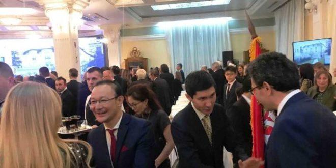 kazahstana, Svečani prijem povodom otvaranja ambasade Kazahstana u Beogradu, Gradski Magazin