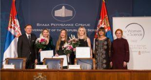 Tri talentovane naučnice iz Srbije nagrađene prestižnim stipendijama