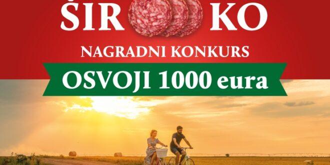 """Široooko"""" muzički nagradni konkurs, prijavi se i osvoji  1000 evra!, Gradski Magazin"""