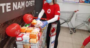 U humanitarnoj akciji Crvenog krsta Beograd prikupljeno više od 4 000 kilograma namirnica, Gradski Magazin
