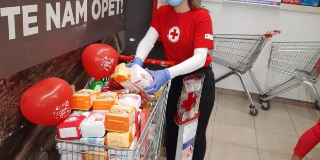 U humanitarnoj akciji Crvenog krsta Beograd prikupljeno više od 4 000 kilograma namirnica