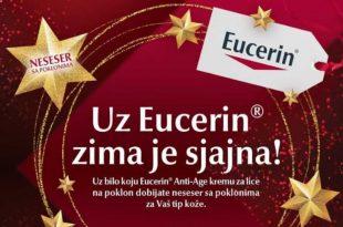 Eucerin, Uz Eucerin i poklon nesesere zima je sjajna, Gradski Magazin