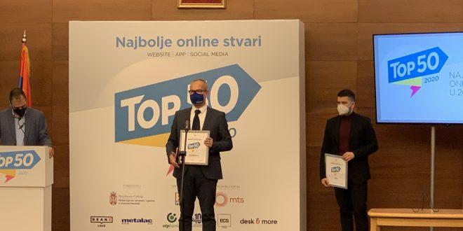 Titula pobednika kompaniji Forma Ideale, Gradski Magazin