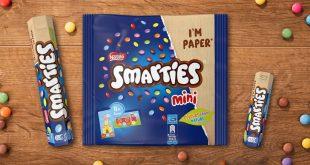 Smarties® bombone od sada u reciklabilnoj papirnoj ambalaži, Gradski Magazin