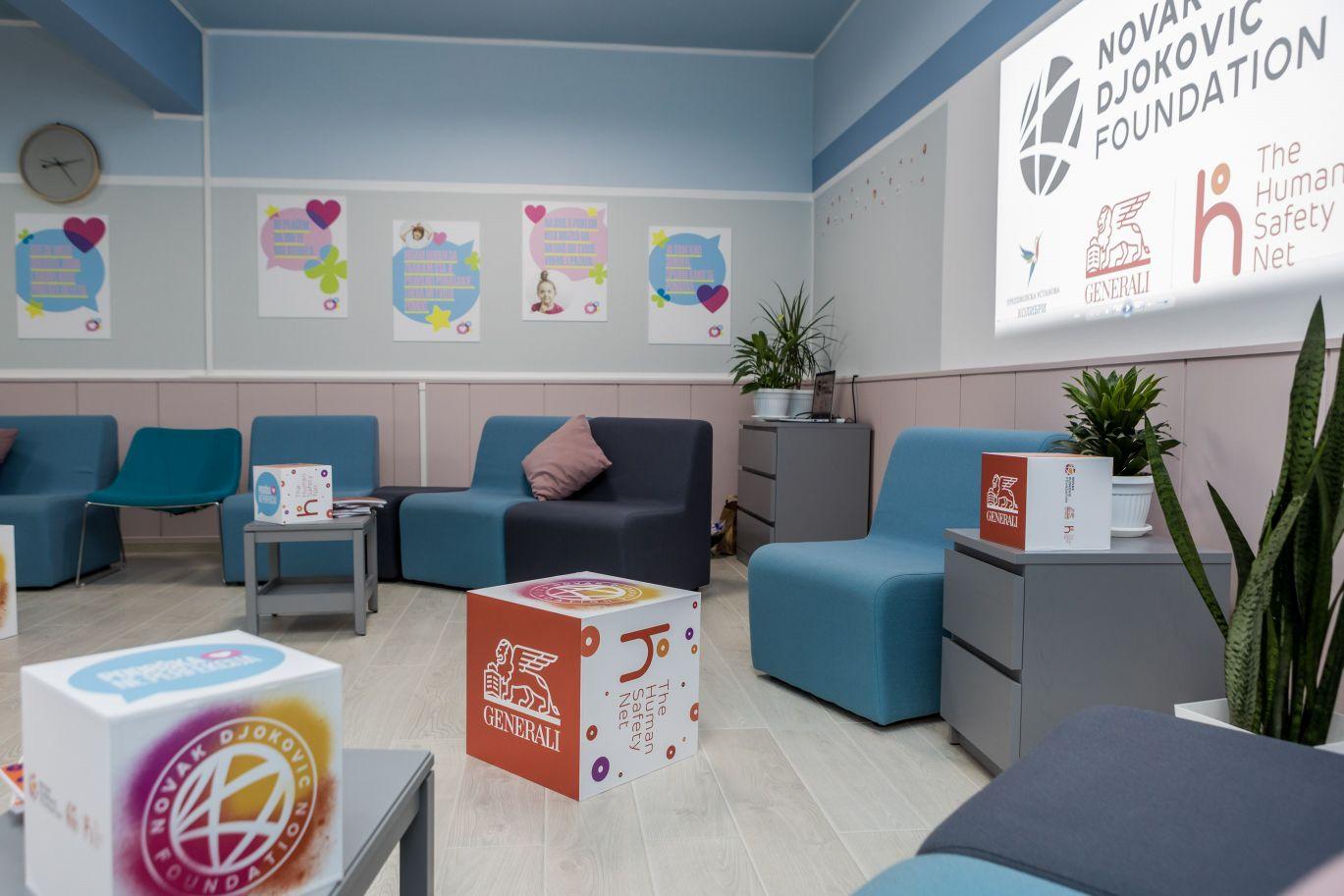 Centar, Novak Đoković Fondacija i The Human Safety Net otvorili prvi Centar za roditelje u Kovačici, Gradski Magazin