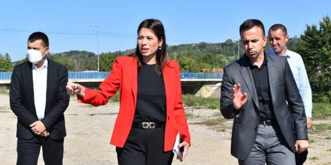 Irena vujović, Vujović u Mionici: Umesto smetlišta, građani će dobiti zelenu oazu, Gradski Magazin
